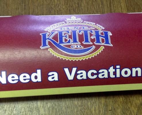 Ben E Keith box mailer