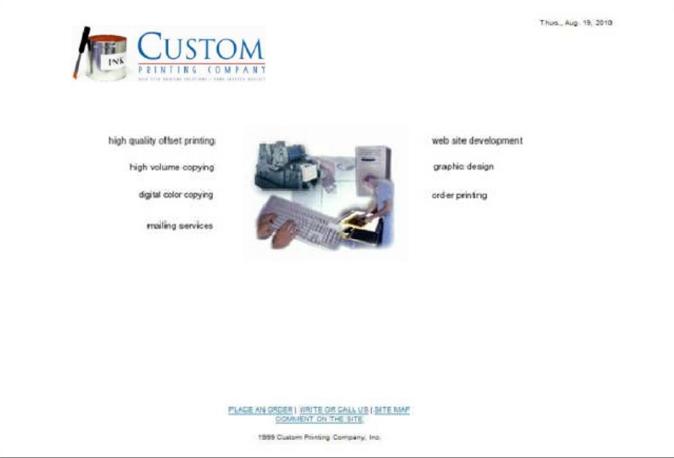 1999 website